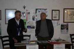 Il prof. Giovanni Barbagallo (a sin.) e il giornalista Domenico Tempio
