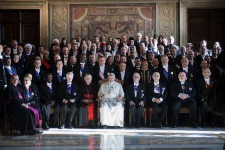 Il Papa riceve il Corpo diplomatico accreditato presso la Santa Sede