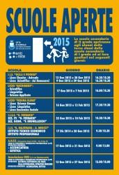 Calendario Scuole Aperte 2015