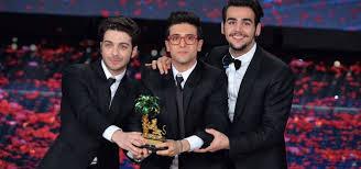 Da sx: Gianluca Ginoble, Piero Barone, Ignazio Boschetto, i tre componenti de Il Volo