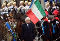 L'insediamento del nuovo Presidente della Repubblica Sergio Mattarella