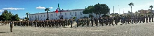 Schieramento del 5° Reggimento