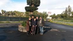 Da sx: Annamaria Belfiore, don Luca Ramello, don Mario Gullo, don Giuseppe Pavone e Angelo Grasso