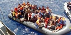 Immigrati in arrivo a Lampedusa, oggi