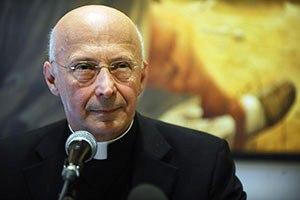Il Cardinale Bagnasco, presidente della Cei