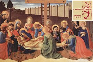 La Sindone in un famoso dipinto del Beato Angelico