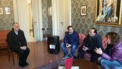 Il Vescovo Raspanti incontra il presidente dell'ottava commissione dei servizi sociali, Teresa Privitera