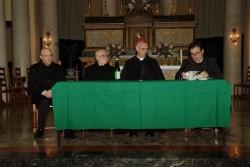 Il tavolo dei relatori (foto Peppe Campagna)