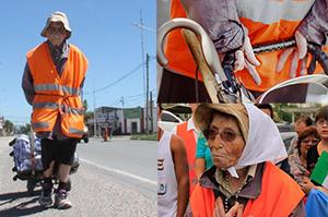 Emma Moroncini pellegrina per 1200 km a piedi in Argentina