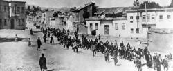 Civili armeni deportati nell'aprile del 1915