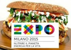 corretto EXPO 2015 - Manifesto con maxi panino (412 x 289)