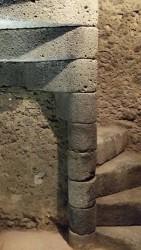 Scala d'accesso alla torre campanaria
