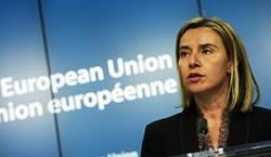 """Il """"ministro degli Esteri"""" della Ue, Federica Mogherini"""