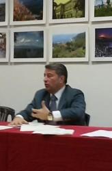 L'assessore Alessandro Oliva