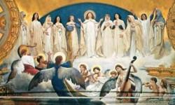 Sciuti, Coro di sante (Duomo) - 2a