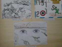 I tre lavori grafici premiati
