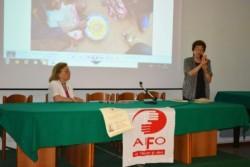Da sin. la prof.ssa Anna Bella e la dott.ssa Anna Maria Pisano