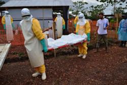 Ebola minacciosa