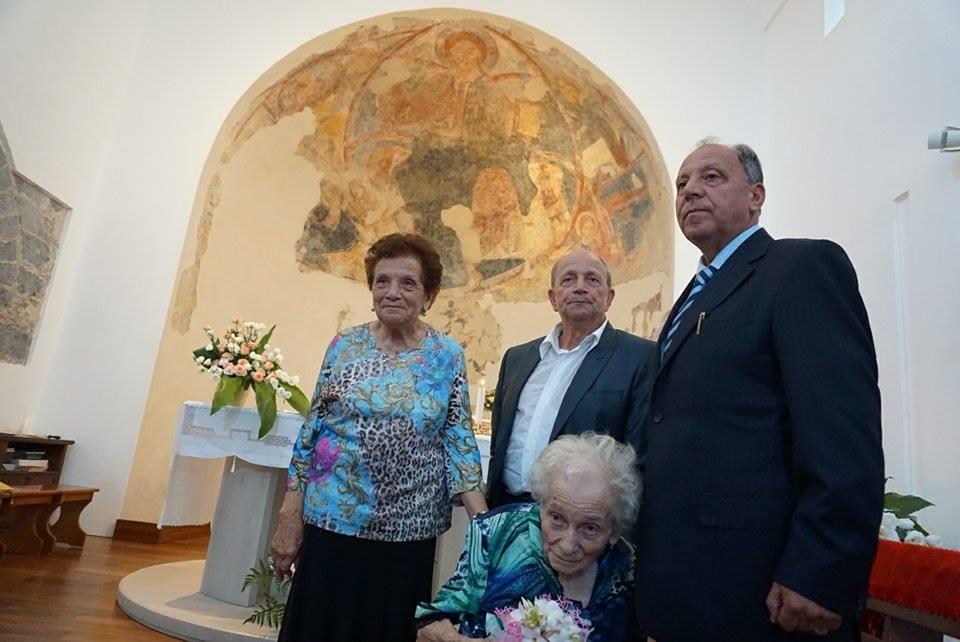 Nunziata di Mascali / La comunità ha festeggiato le 100 primavere di Agata Patti