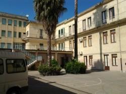Il cortile interno dell'istituto