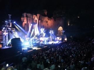 """Taormina / Seconda tappa del """"Tortuga Tour"""" di Antonello Venditti: """"Sono stato sempre legato alla Sicilia"""""""