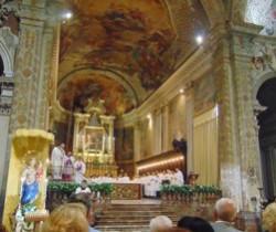 La celebrazione eucaristica a conclusione dell'assemblea diocesana