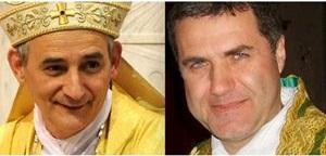 Mons. Matteo Zuppi e Mons. Corrado Lorefice