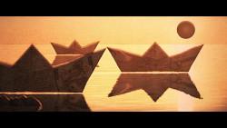 Un fotogramma tratto dall'animazione 'Aubade' (Svizzera)