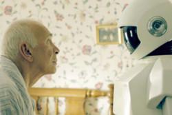 robot x anziani
