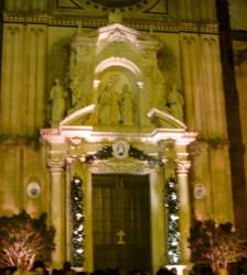 La porta santa della Cattedrale di Acireale pronta per l'apertura
