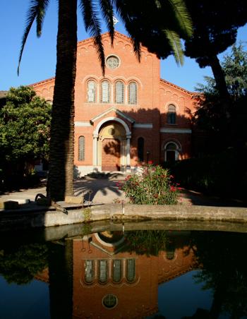 """Luoghi della fede 6 / Abbazia """"Nostra Signora del Santissimo Sacramento"""" a Frattocchie, nella campagna romana"""