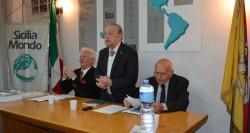 Da sin: Enzo Farinella, Mimmo Azzia ed Enzo Zappulla