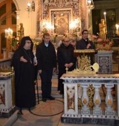 P. Alessio, P. Nei, P. Salvatore e don Santo