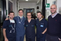 Da sx: Marco Zagari, Miguel Rechichi, Marcello Santocono, Silvio Zagari e Federico Basile