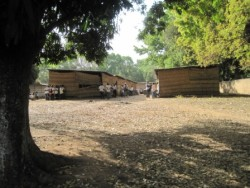 Il liceo di Bula com'era nel 2012