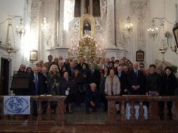 I partecipanti all'assemblea regionale dell'Ucsi, tenutasi a Taormina sabato 30 gennaio