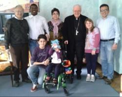 Gruppo di una casa famiglia della Comunità Giovanni XXIII