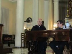 Da sx: Mons. Antonino Raspanti e don Massimo Naro