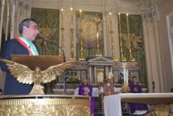 Il sindaco Rosario D'Agata