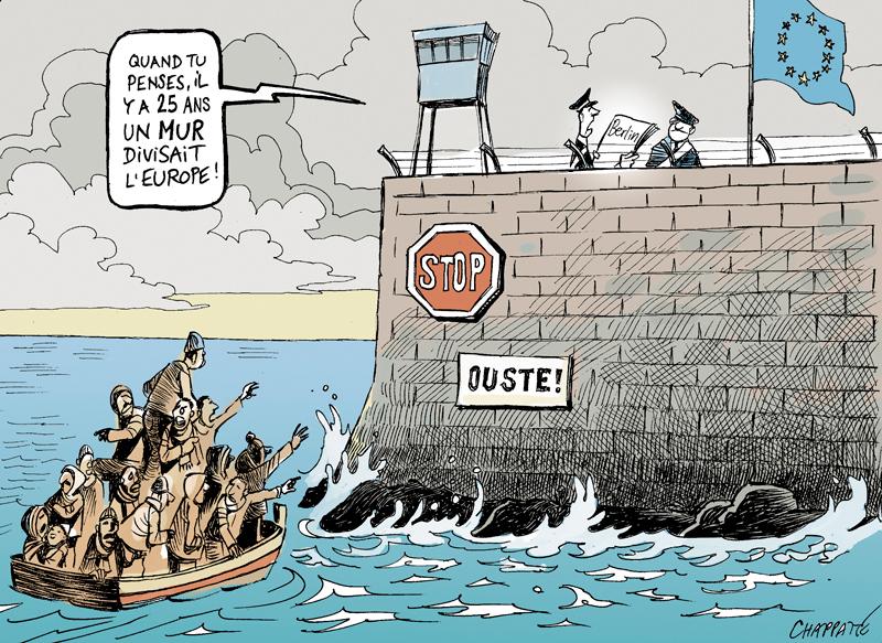 Quotidiano / Muri e dintorni. In Europa (e non solo) avanza il mostro della paura. Ma prima o poi chi ha paura farà i conti con il mondo e l'umanità