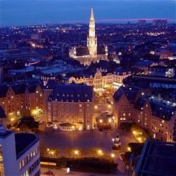 Una veduta di Bruxelles