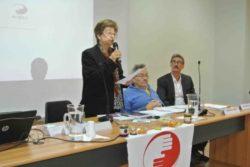 La dott. Matilde Leonardi, Giampiero Griffo e il dott. Franco Colizzi