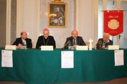 Da sx: don Marco Catalano, mons. Antonino Raspanti, dott.Roberto Presilla, dott. Mario Vasta