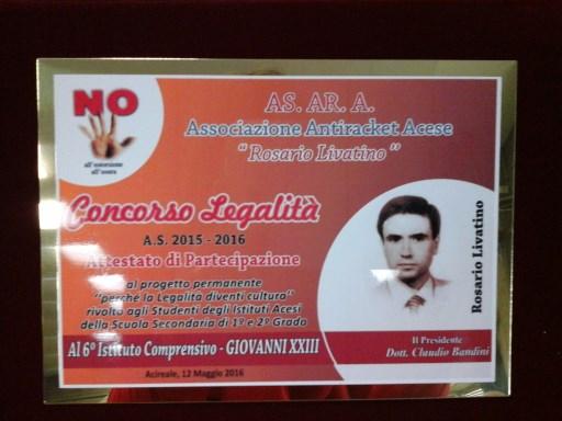 Scuola / Il concorso sulla legalità organizzato dall'Asara. Premiati all