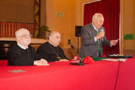 Acireale / Convegno degli ex alunni all'istituto S. Michele dei Padri Filippini. Dotta conversazione del card. Romeo