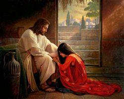 perdono alla peccatrice