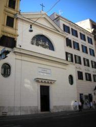 Roma - Chiesa Santa Maria dell'Odigitria, in via del Tritone