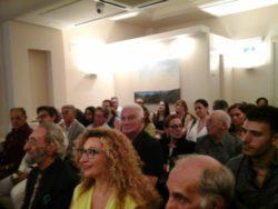 Il pubblico nella sala Costarelli