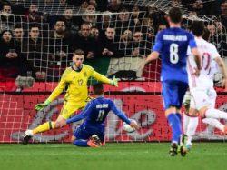 Verso  Euro 2016 / L'Italia c'è: Insigne griffa l'1-1 con la Spagna