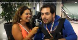 Daniel intervistato dalla stampa